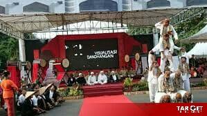 Sambut Ramadhan Pemkab Kudus Gelar Visualisasi Tradisi Dandhangan