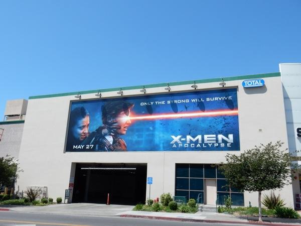 XMen Apocalypse movie billboard