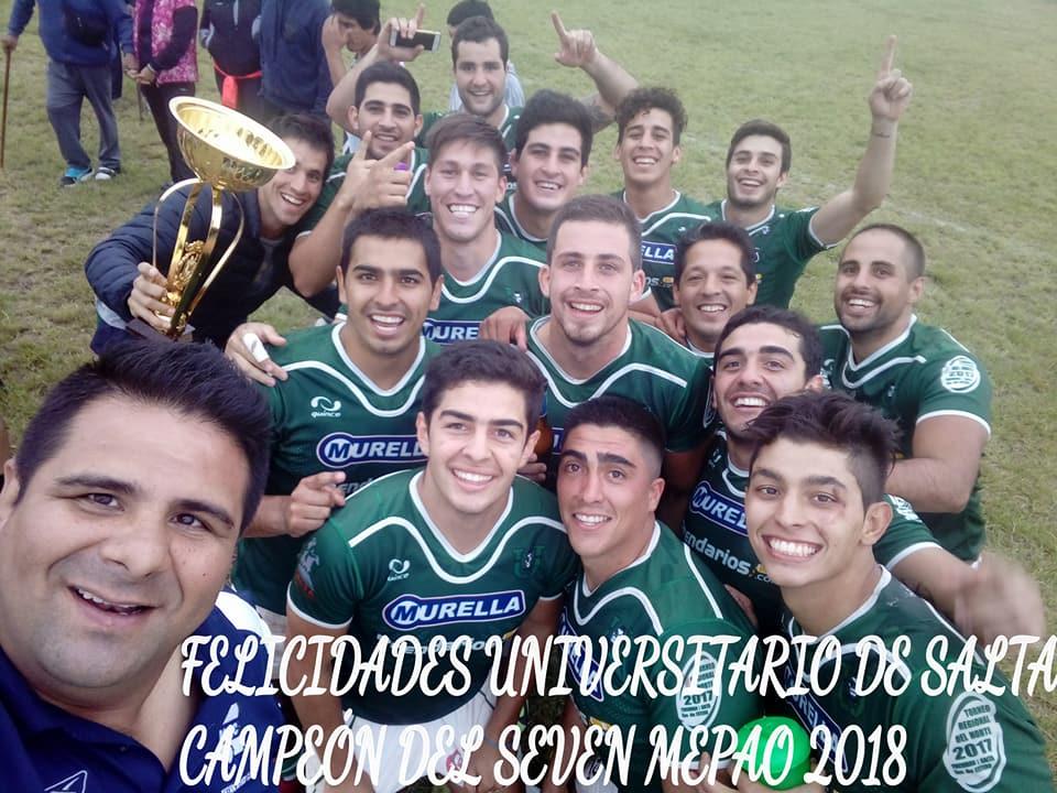 Universitario Campeón del Seven de MEPAO 2018