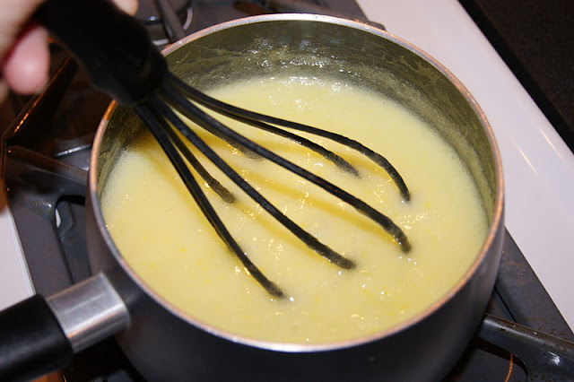 Whisking Thickened Lemon Curd Image