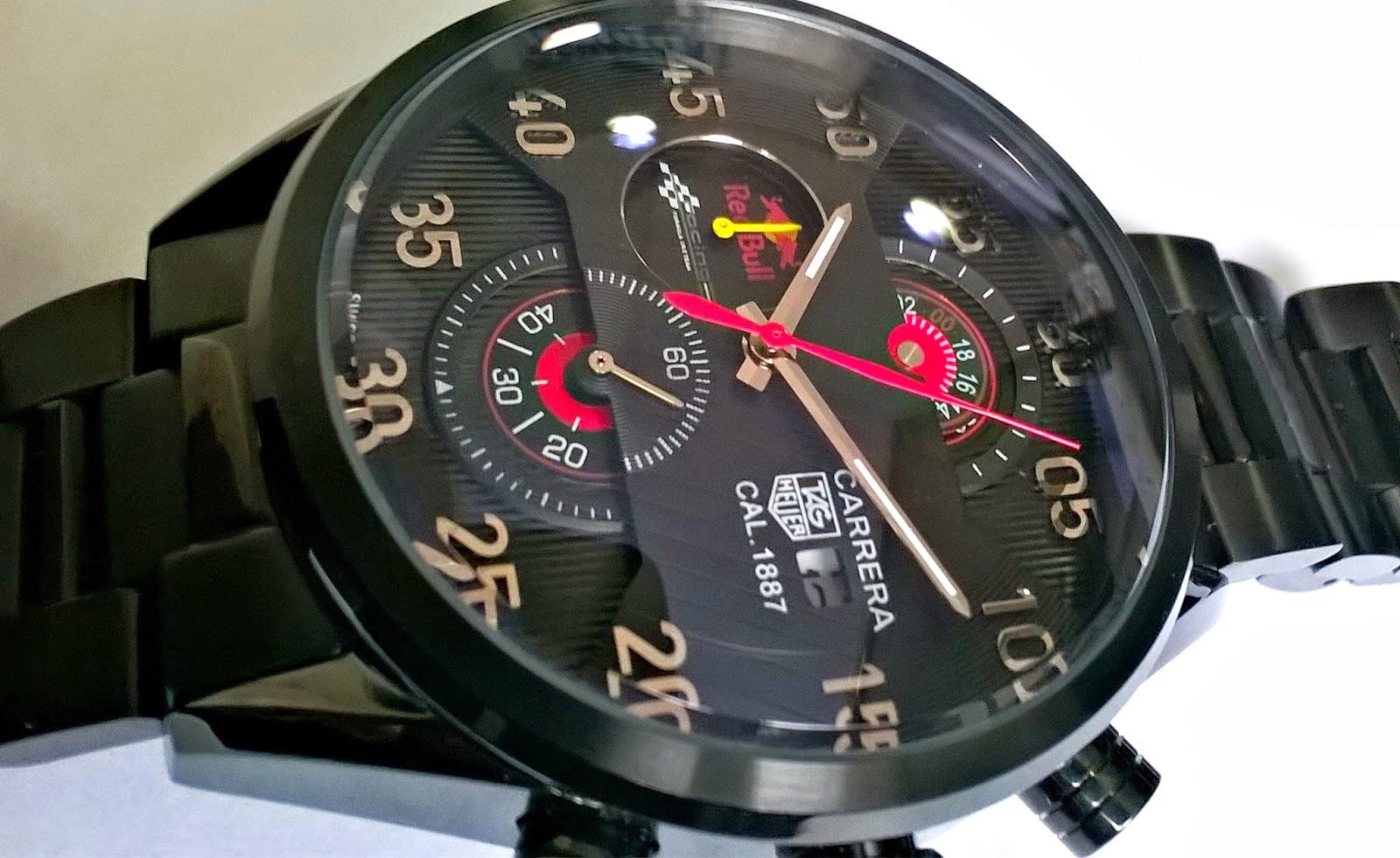 8ad2bc32af4 Relógios de Luxo  Relógio Tag Heuer Carrera Red Bull Racing