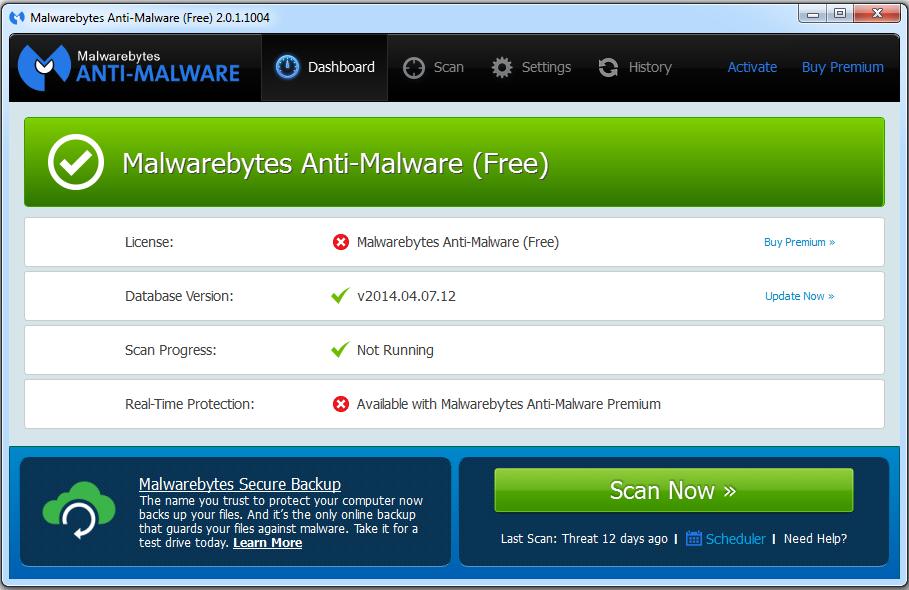 top Anti-Malware Terbaik: Malwarebytes