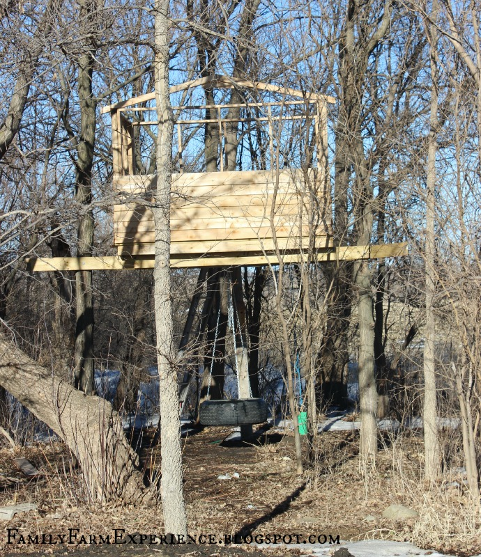 family farm experience  diy how to build your own treehouse