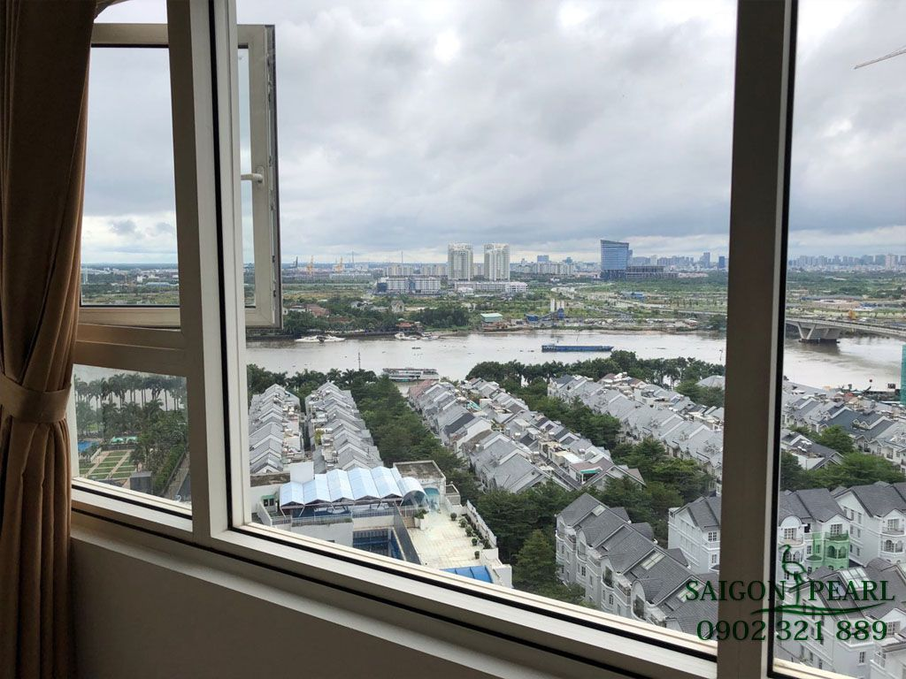 Shapphire 1 Saigon Pearl cho thuê căn hộ 2PN nội thất mới 1100$ - hinh 5