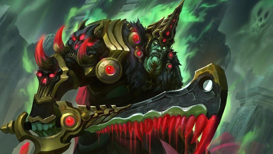 Wraith King, Dota 2, The Dead Reborn, Set, 4K, #5.2093