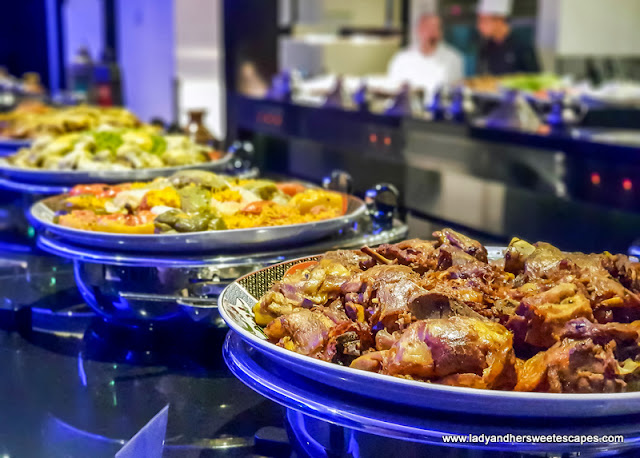 main dishes at Pullman Dubai Creek city centre iftar