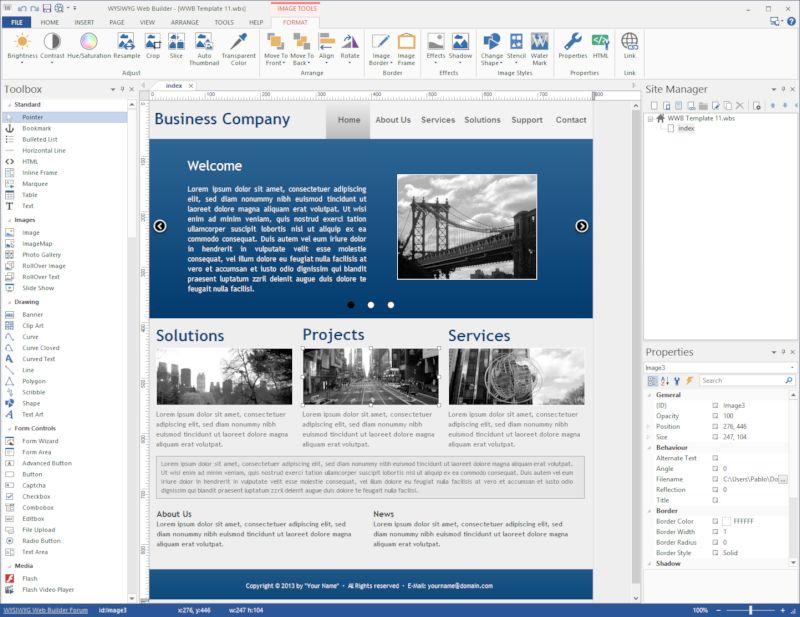 WYSIWYG Web Builder 12.2