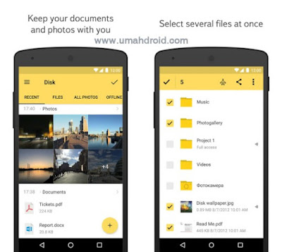 Yandex Disk Cloud Storage Apps Android