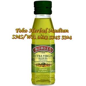 Jual Minyak Zaitun Borges Extra Virgin Olive Oil 125 ml di Madiun