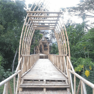Jembatan Bambu Camera House Borobudur
