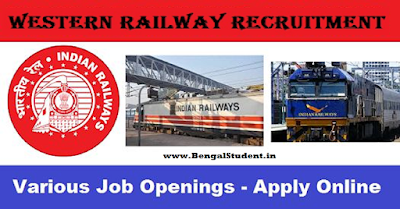 RRC Western Railway Indian Railway Recruitment 2018 - Apply Now