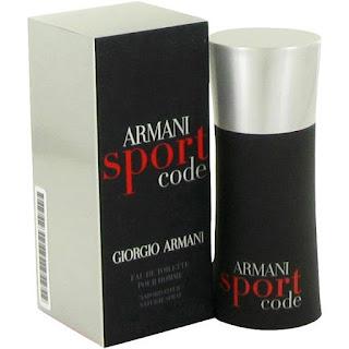 Gergio Armani Sport Code