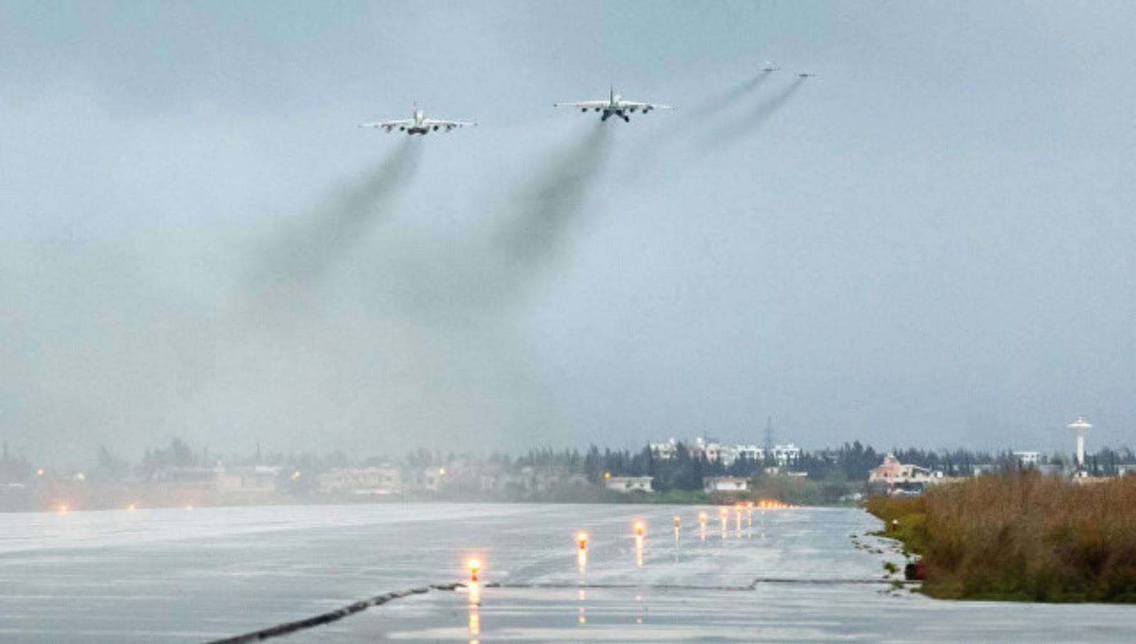Nah loh!! Pengendalian serangan drone ke pangkalan Khmeimim dilakukan dari pesawat pengintai AS