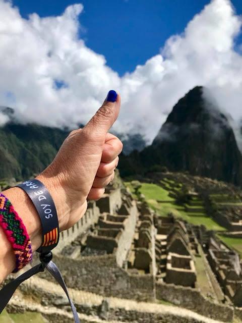 chapurriau, Machu Picchu