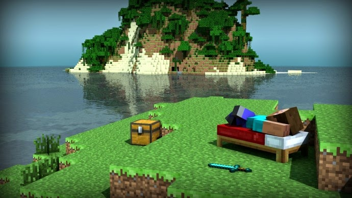 Minecraft On Ps4 Will Have 36 Times Larger Map Ps4 Alerts