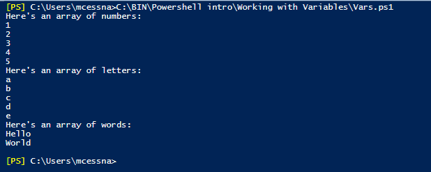 Intro to PowerShell - Variables | Anexinet %