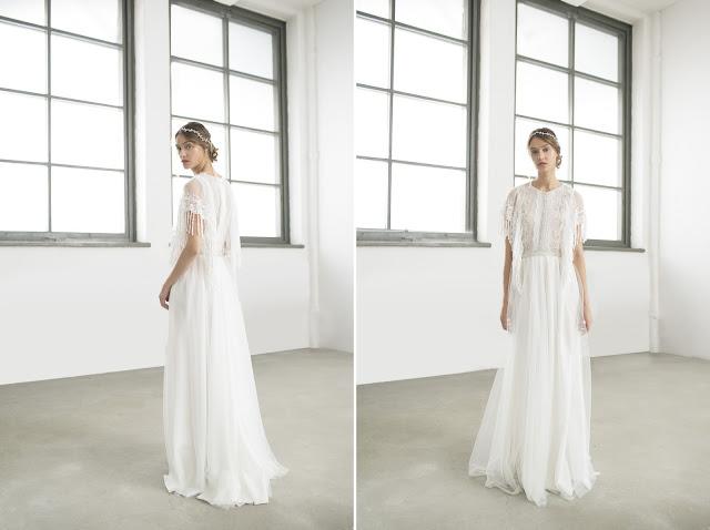 Suknia ślubna w stylu boho od Joanna Niemiec Atelier.