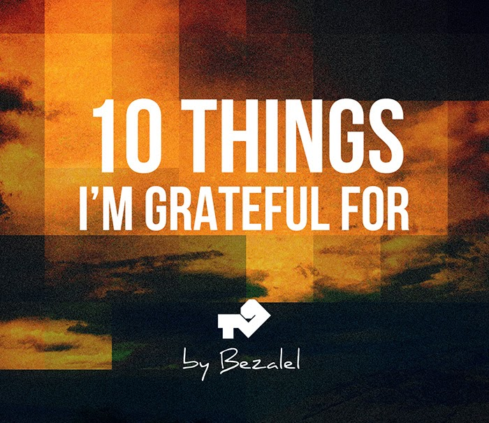 10 things I'm grateful for - picture
