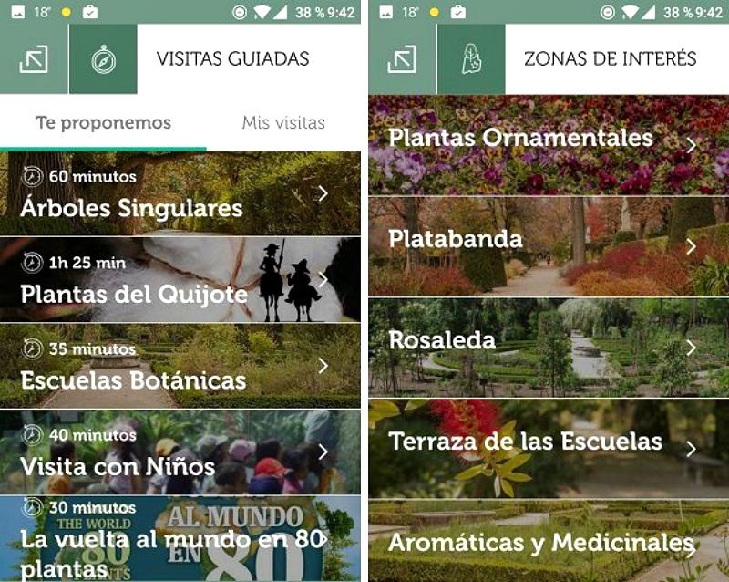Itinerarios por el Real Jardín Botánico