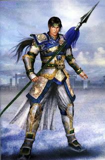 Zhou Yun Versi Dnasty Warrior