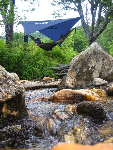 Sleeping in a hammock allows you to sleep much cooler than sleeping in a tent because of convection.