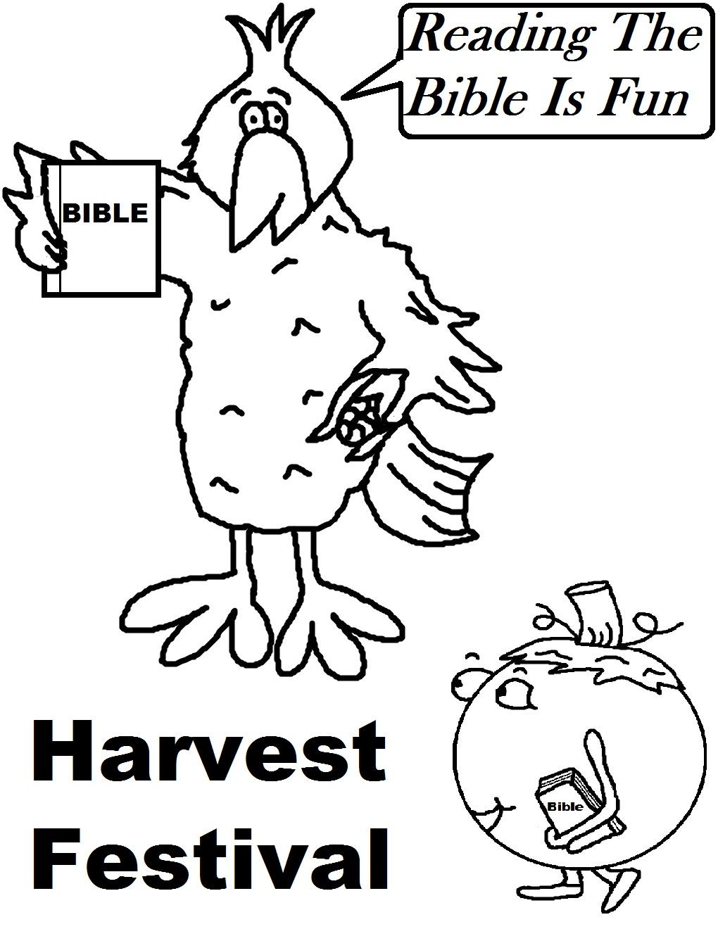 Harvest Festival Coloring Pages - Eskayalitim