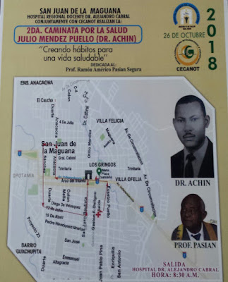 En San Juan, Hospital y CECANOT invitan a la segunda caminata por la salud