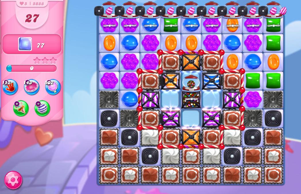 Candy Crush Saga level 5888