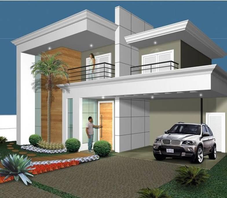 Exterior House Design Programs: 35 Exterior Home Design Simple But Luxury
