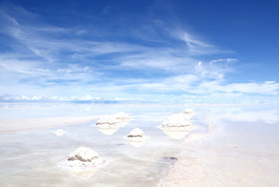 The Salar de Uyuni