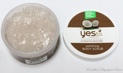 Yes to Coconut body scrub