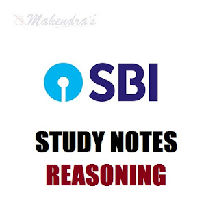50 Important Questions In Reasoning For SBI Clerk Prelims : 13.02.2018