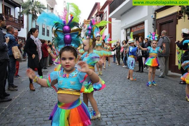 Coso del Carnaval Escolar La Palma
