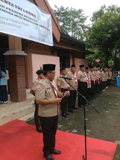 Melalui Gerakan Pramuka, Bangun Tunas Muda Di Kabupaten Muba