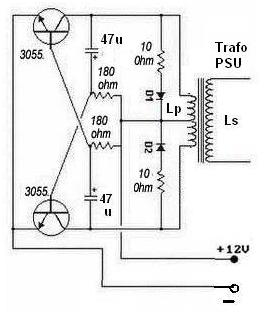 12V Inverter Circuit Diagram  Electronic Circuit