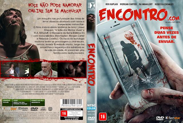 Capa DVD Encontro.Com [Exclusiva]