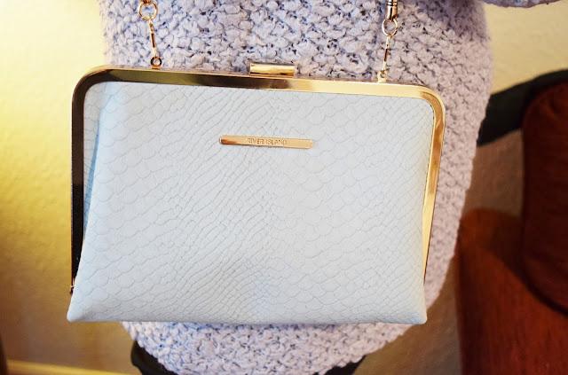Pantone Serenity Handbag