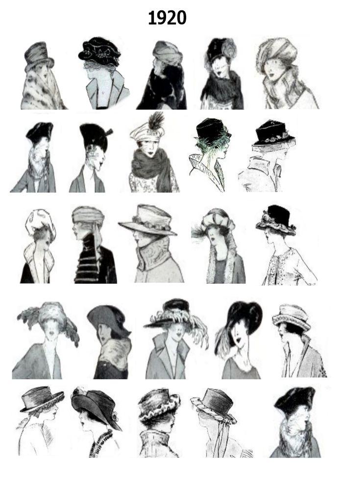 victoria-vd: Fashion in 1920's.