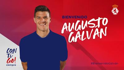 Augusto Galvan cedido a la Cultural Leonesa