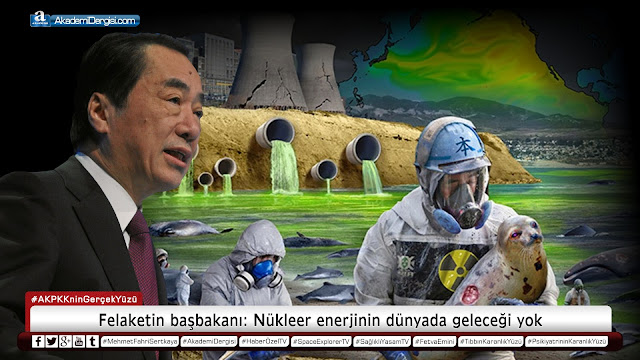 Felaketin başbakanı: Nükleer enerjinin dünyada geleceği yok