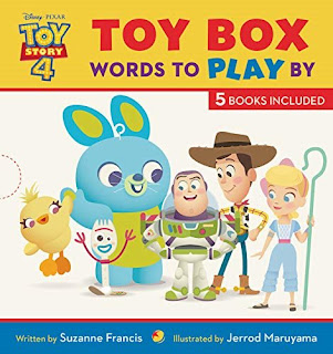Toy Story 4 Toy Box: Words to Play By Book
