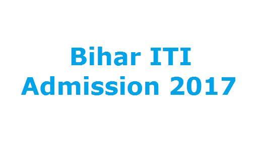 Bihar ITI admission 2017