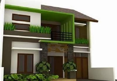 gambar desain rumah minimalis perkotaan
