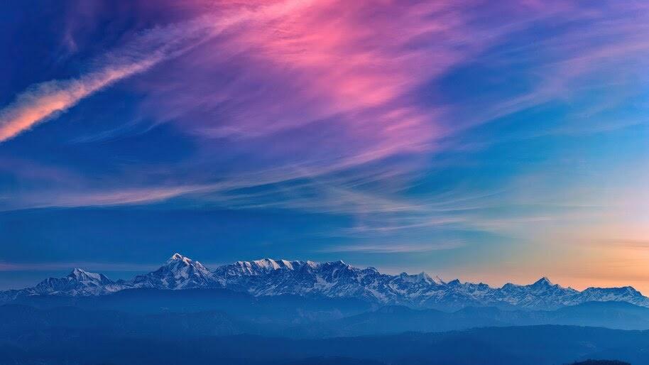 Colorful, Cloud, Sky, Scenery, 4K, #6.445