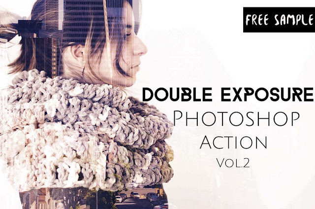 3 Double Exposure Photoshop Actions