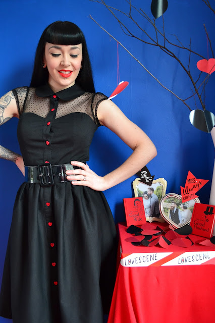 Review Valentine Dress Weekend Doll Valentines Day Pinup