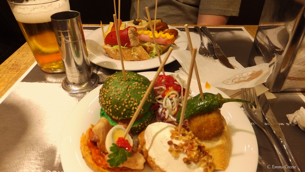 Plenty of pinchos