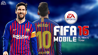 FIFA 16 Mobile Ultimate Team Android 1.3 GB High Graphics