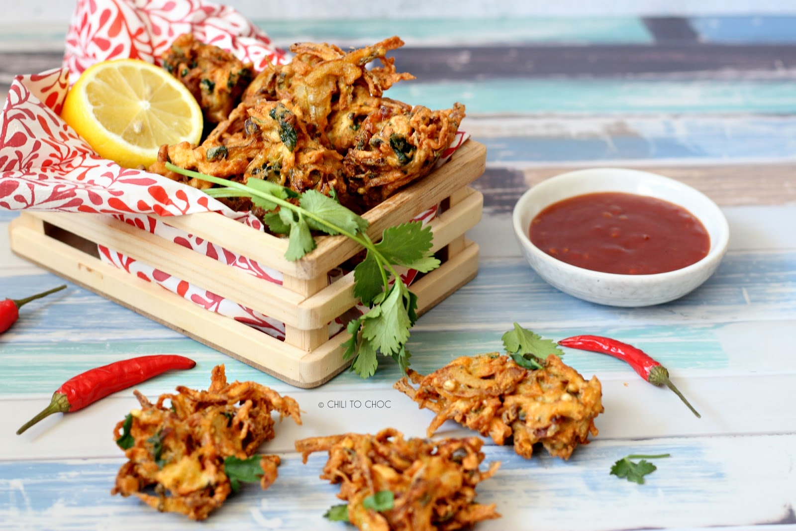 Super-Crispy Vegetables Pakoras (Fritters)
