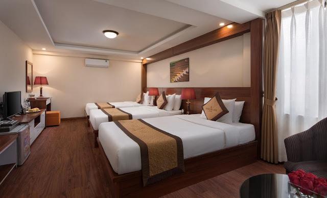 Phòng 3 giường  -khách sạn sapa golden villa sapa